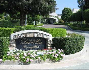 Del Mar County Club, San Diego