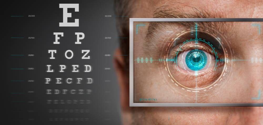 laser vision operation