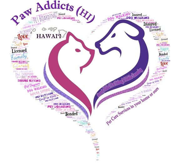 Pet Sitting Services in Oahu HI at Paw Addicts Hawaii