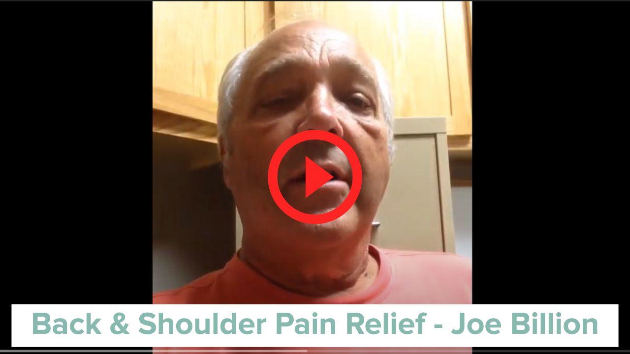 Stem Cell regeneration for back and shoulder relief