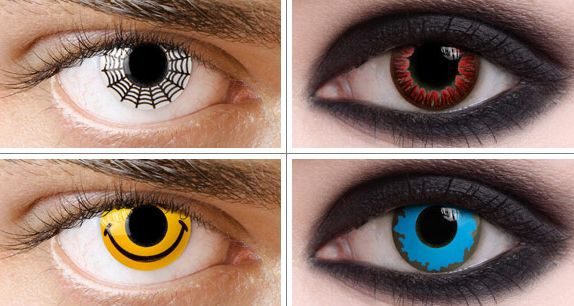 Costume Eye Contacts – The Scary Truth
