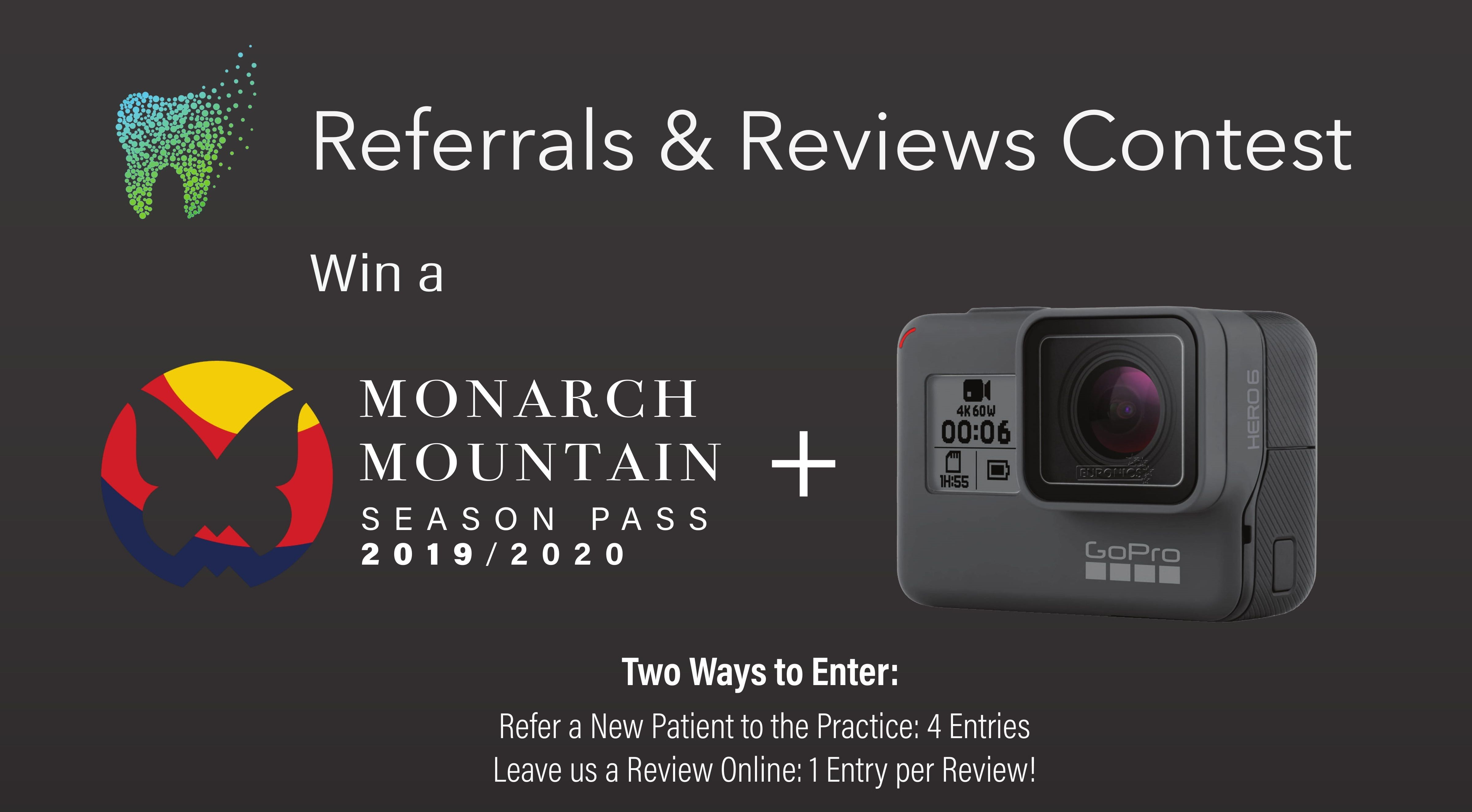 Salida: Monarch Mountain Season Pass  and a GoPro Giveaway
