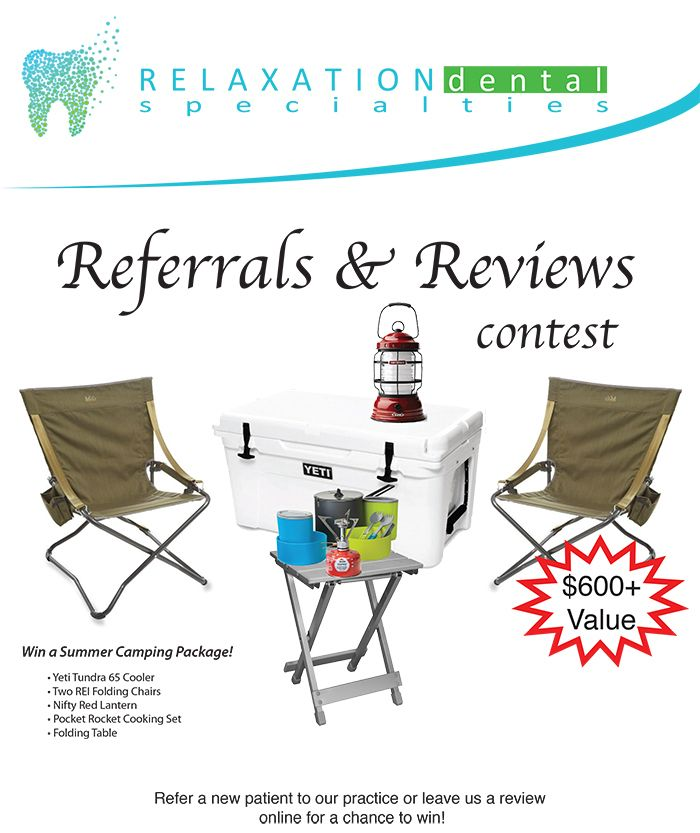 summer packages for referrals & reviews contest