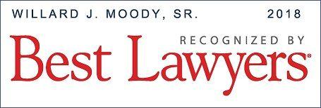 Willard J. Moody, Sr. Best Lawyers