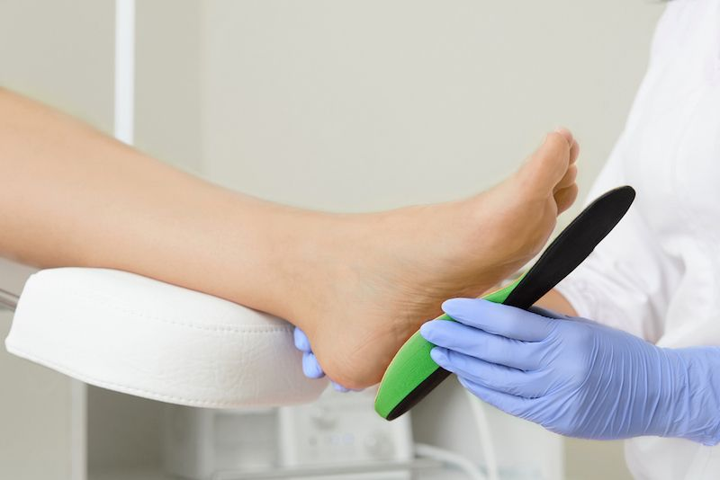 Conditions: Foot Pain and Orthotics