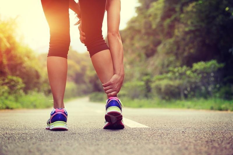 Injury while running