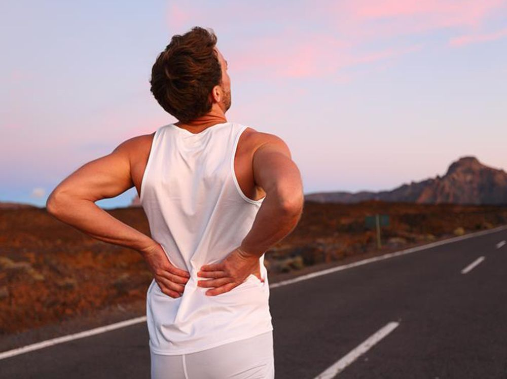 Back pain while running