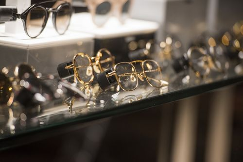 Saks Fifth Avenue glasses