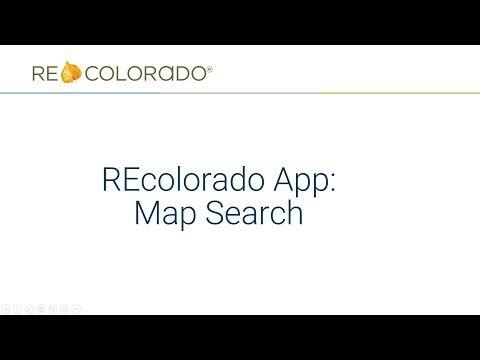 REcolorado App: Map Search