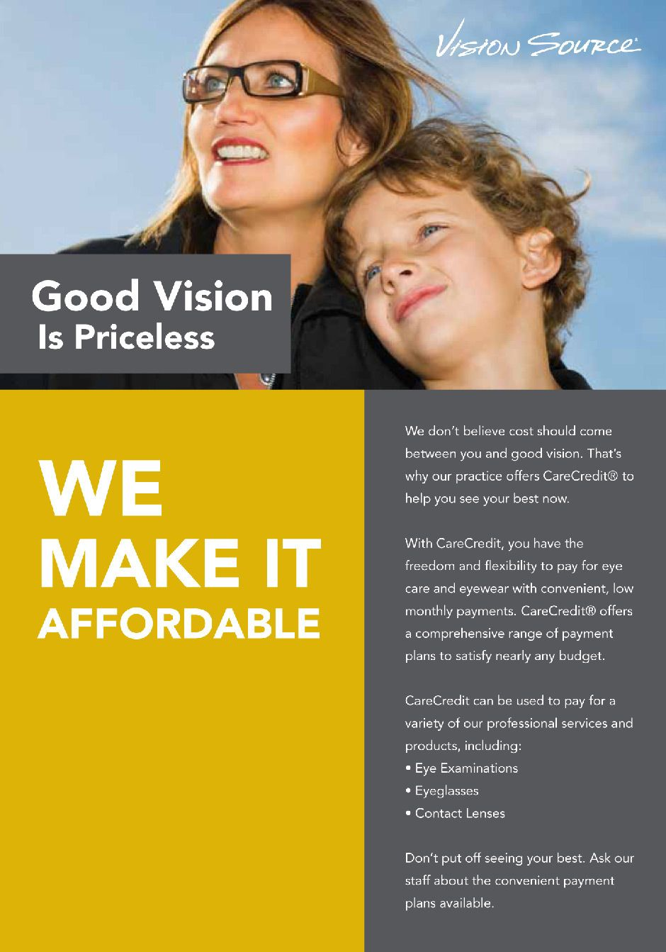 affordable eye care