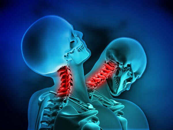 The abrupt backward or forward jerking motion in a car accident can cause this strain or sprain to the neck.