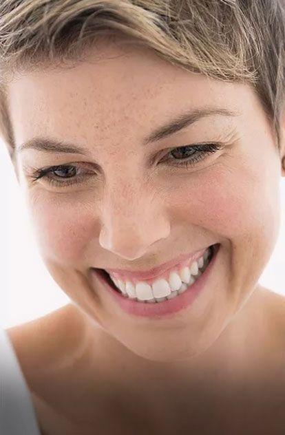 smiling woman