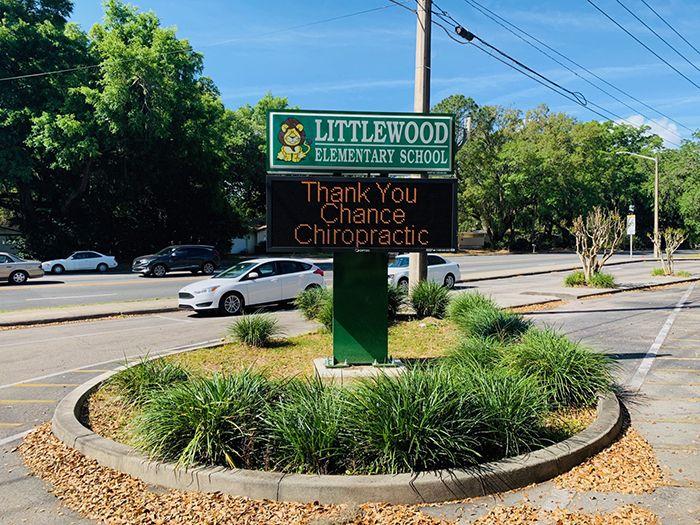 Partner in Education - Littlewood Elementary School - School year 2018-2019