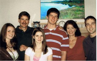 Dr. Chris Chance with his family