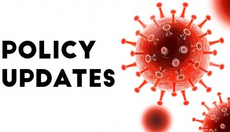 COVID policy updates