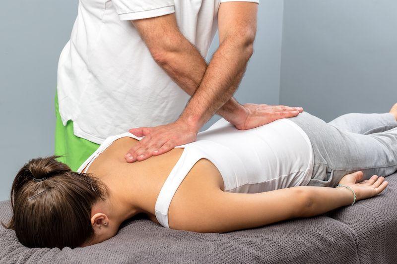 Chiropractic patient