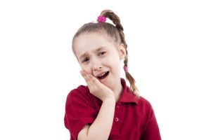 What does it mean if my child's teeth are sensitive to hot or cold?