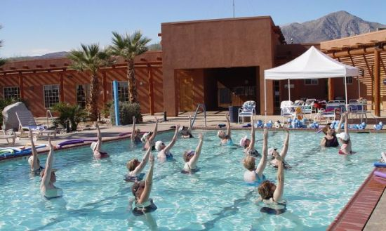 Massage Therapy At The Springs At Borrego Rv Resort And