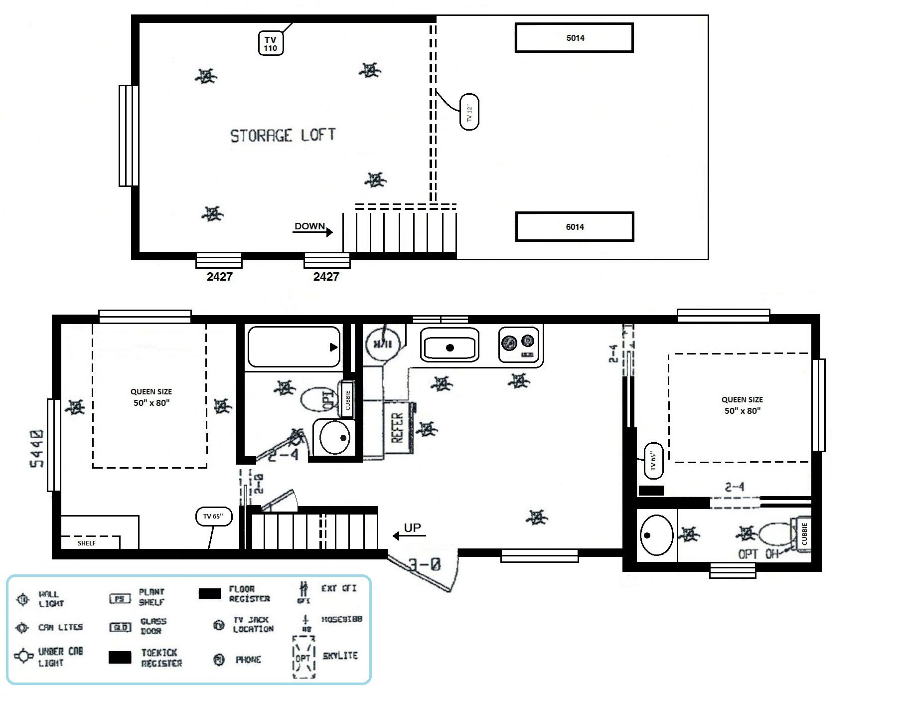 Photo Outback Campers Floor Plans Images 100 Bunkhouse