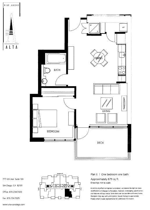Alta Floor Plans