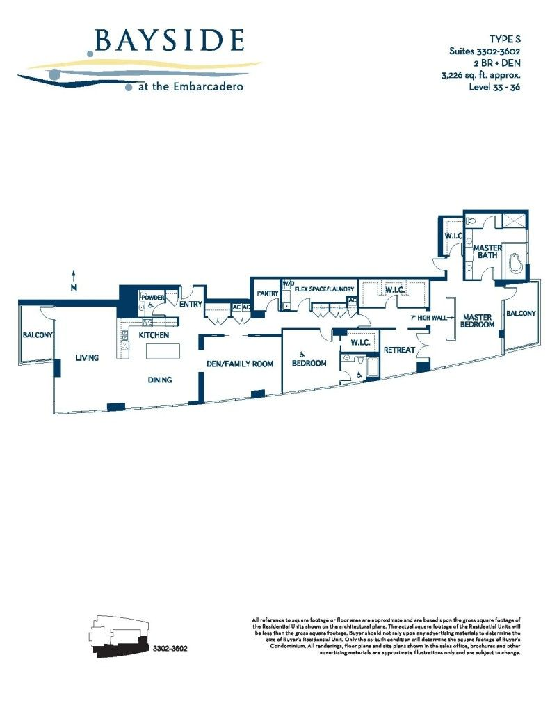Bayside Floor Plans