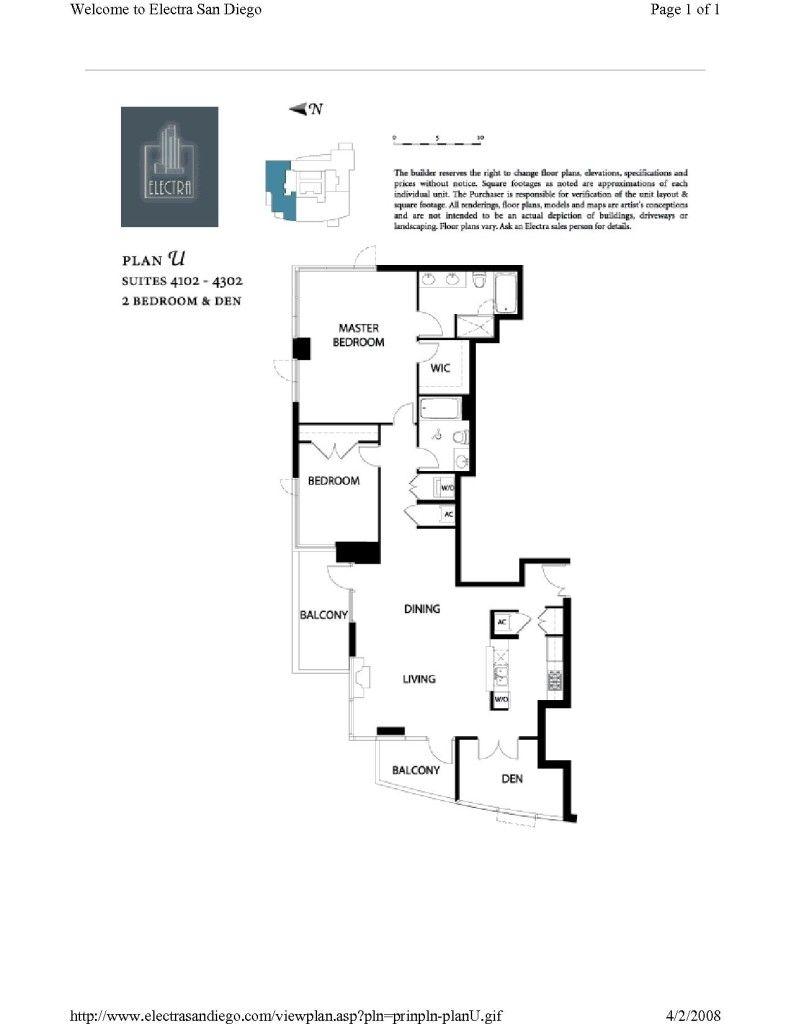 Electra Floor Plans
