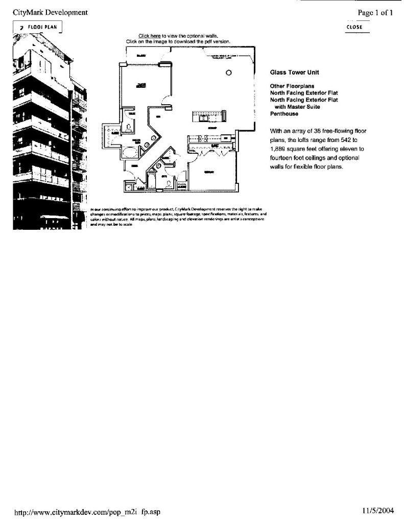 M2I Floor Plans