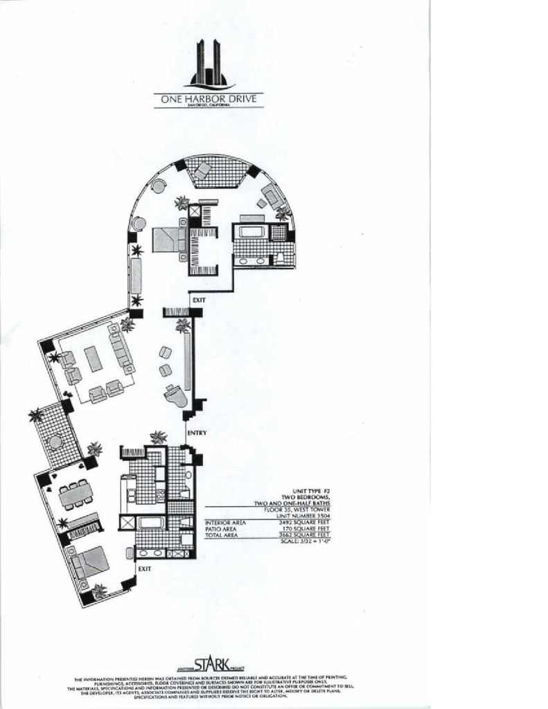 Harbor Club Floor Plans