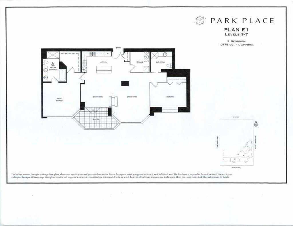 Park Place Floor Plans