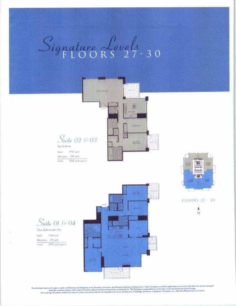 Pinnacle Floor Plans
