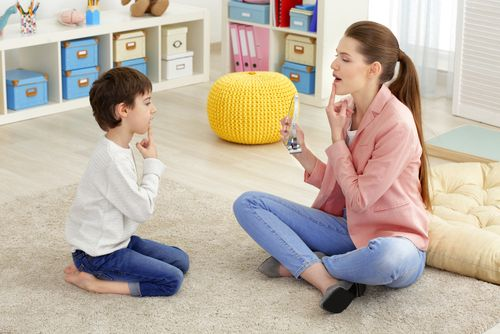 Speech Therapy for Autism​​​​​​​