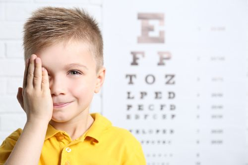 Child's Eye Exam