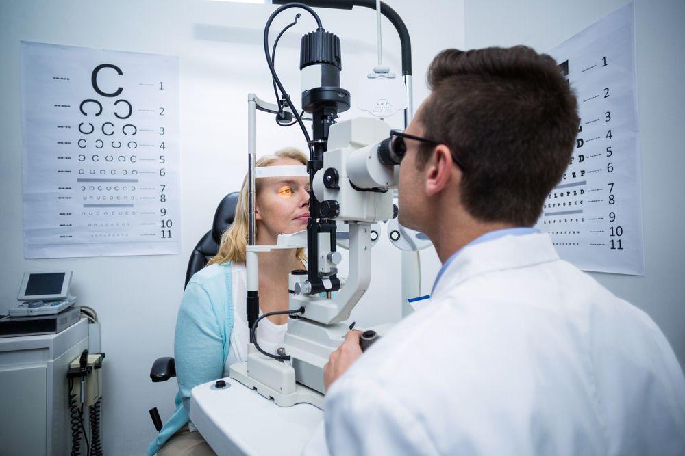 specialty eye testing