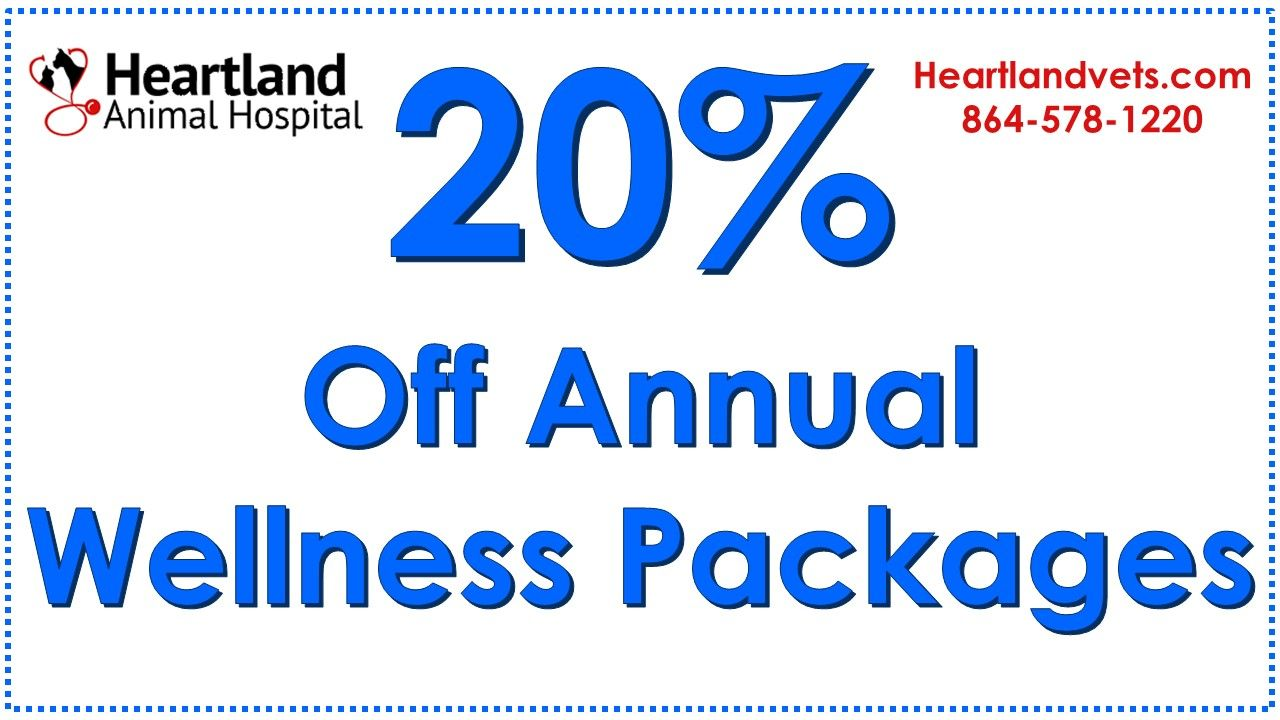 Save 20% on Annual Wellness Packages