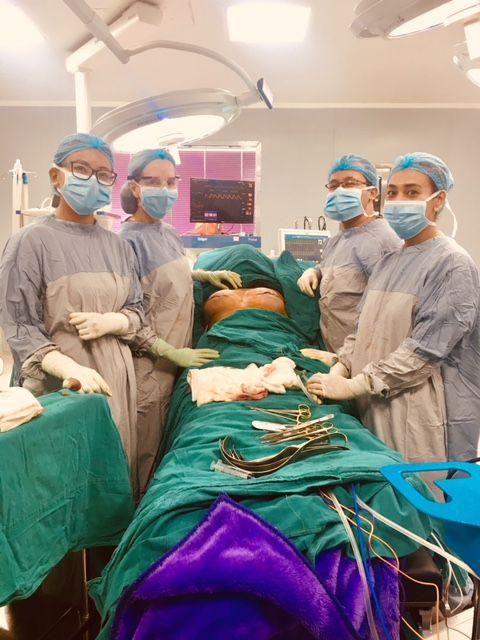 medical mission operation room