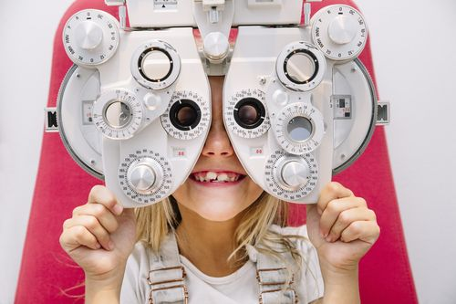 visual acuity exam