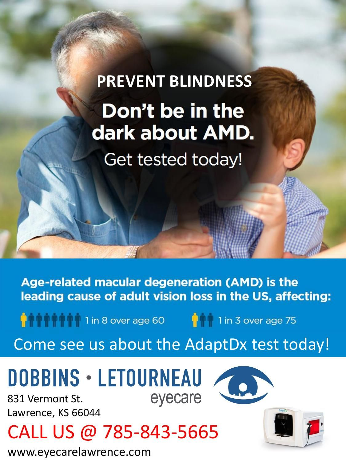 Detecting Macular Degeneration With AdaptDX