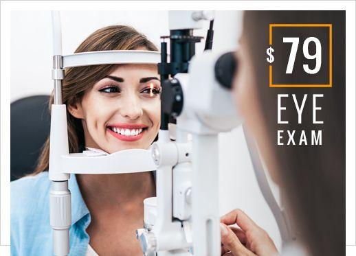 $79 eye exam