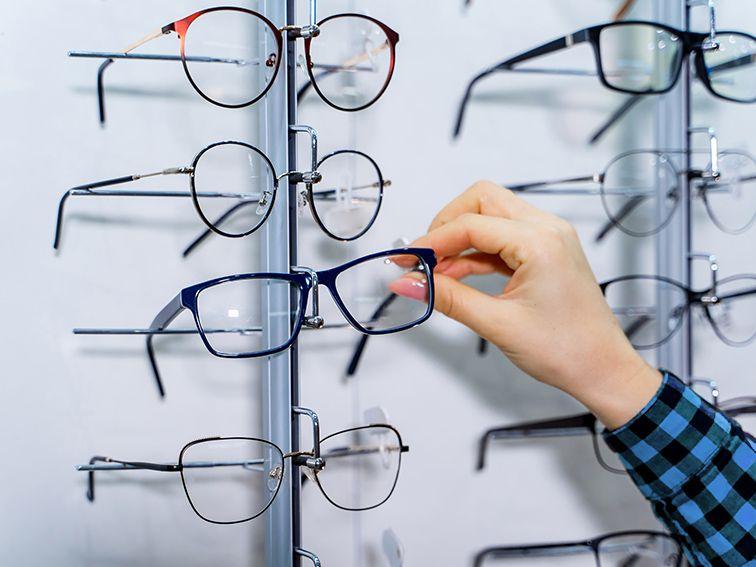 prescribed eyewear