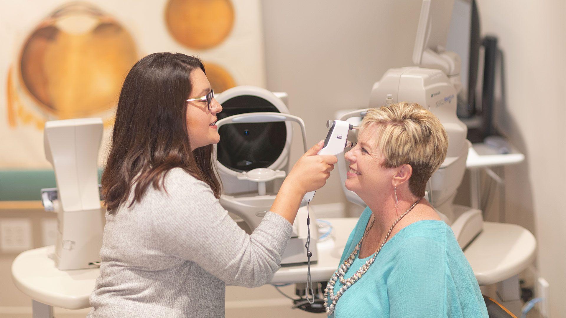 top eye care services