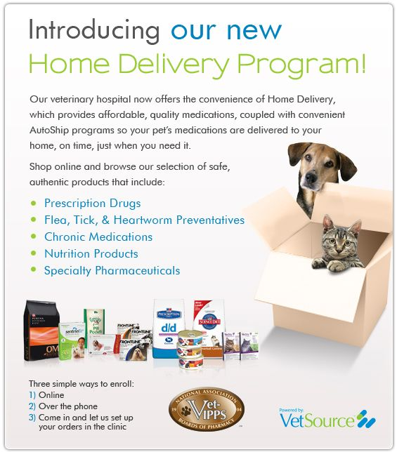 veterinarian home delivery banner