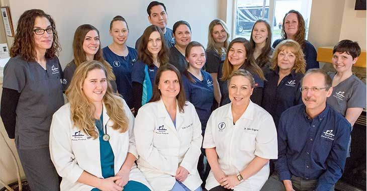 Bayshore Animal Hospital team