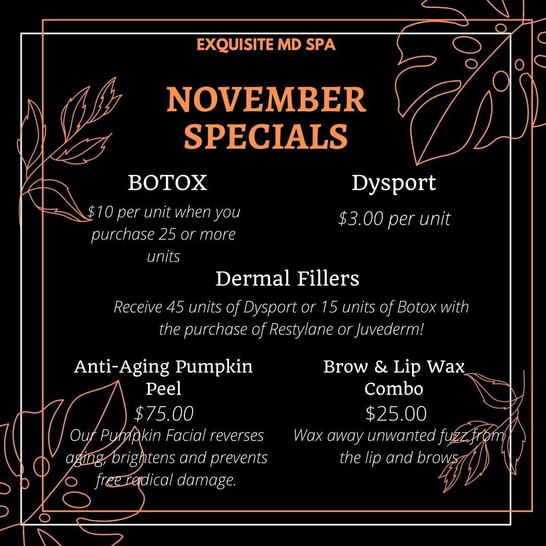 November Popup