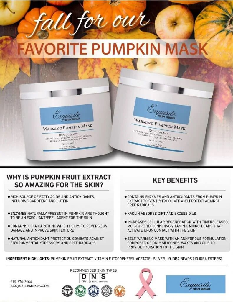 New Product – Warming Pumpkin Mask