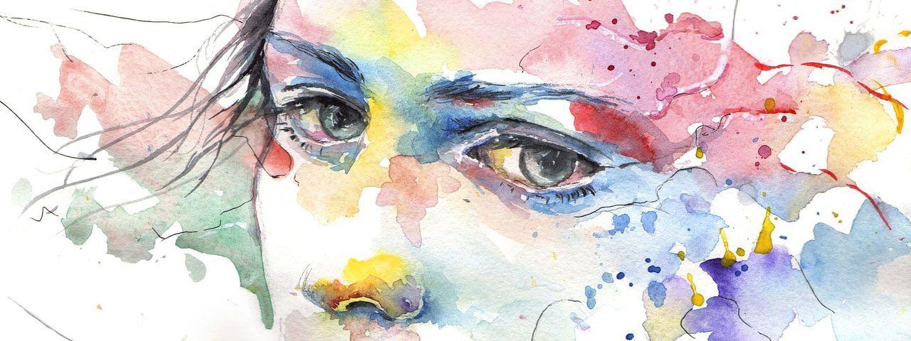 eye Colorful Abstract