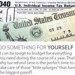 Tax refund? Use it for something that matters.