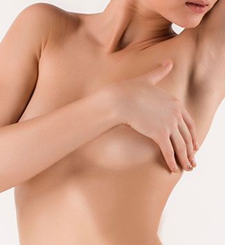woman after breast reconstruction