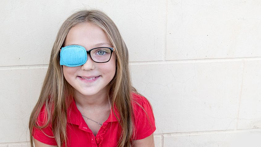 Young girl Strabismus Surgery