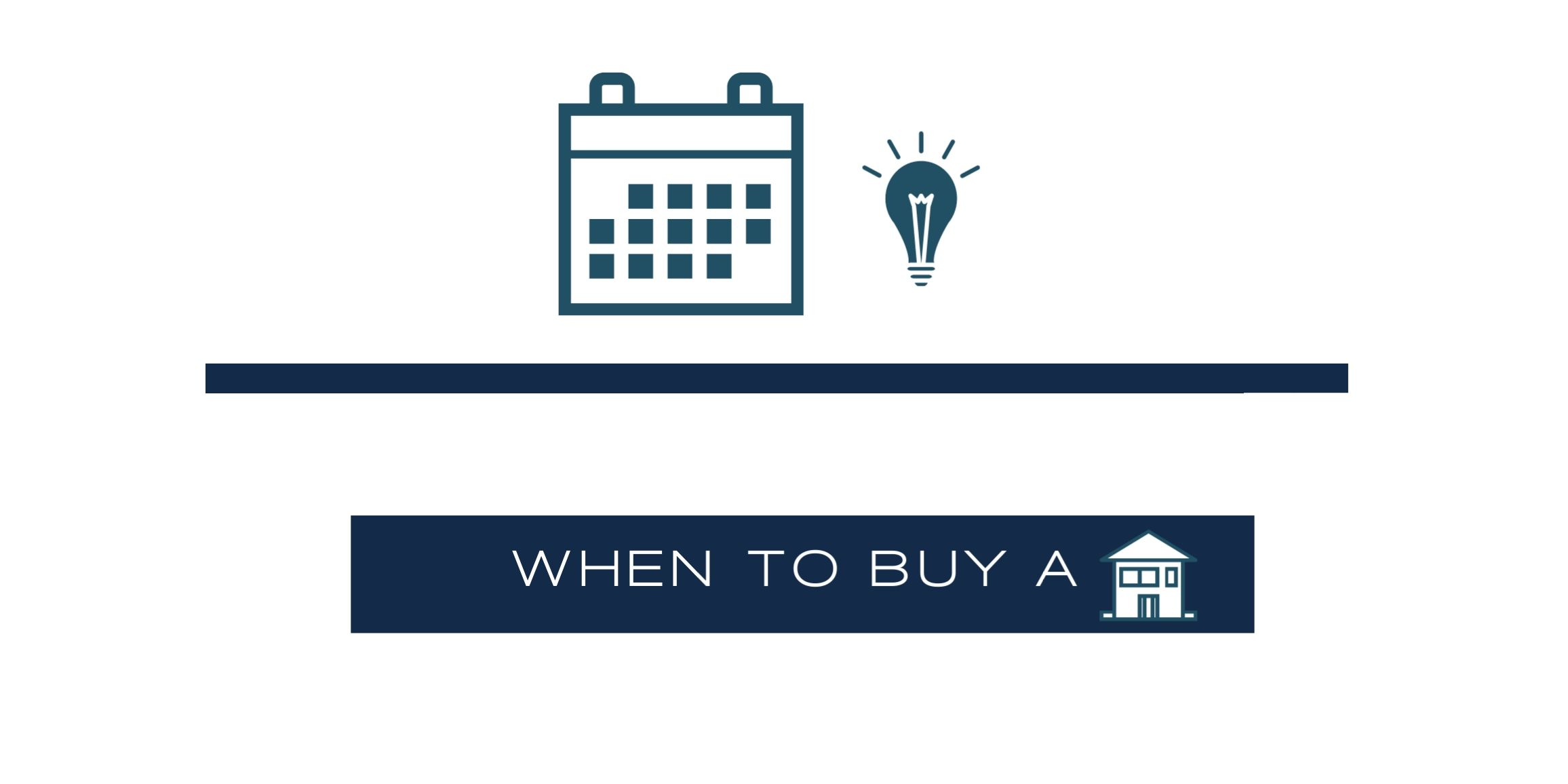 When Is The Right Time To Buy A House?