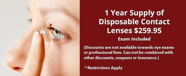 disposable contact lenses